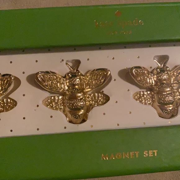 NWT kate spade bee magnets